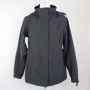 Marmot Membrain black soft shell jacket waterproof